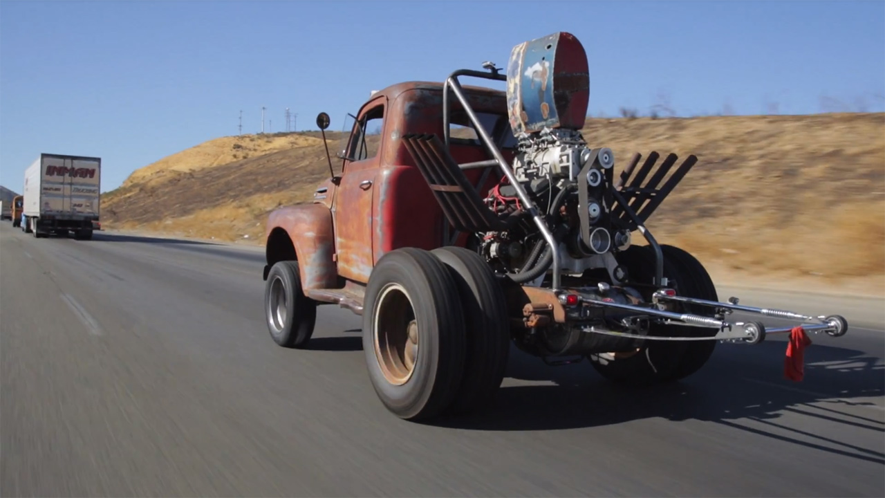 Stubby Bob Ford F Dump Truck With A Supercharged Bbc V on 6 8 Ford Block