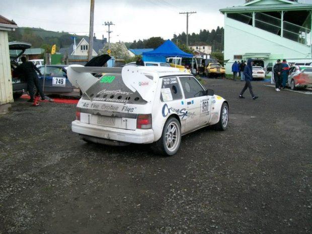 Subaru Justy with a Mid-Engine Turbo EJ25 flat-four