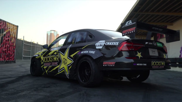 Tanner Foust's VW Passat with a LS7 V8