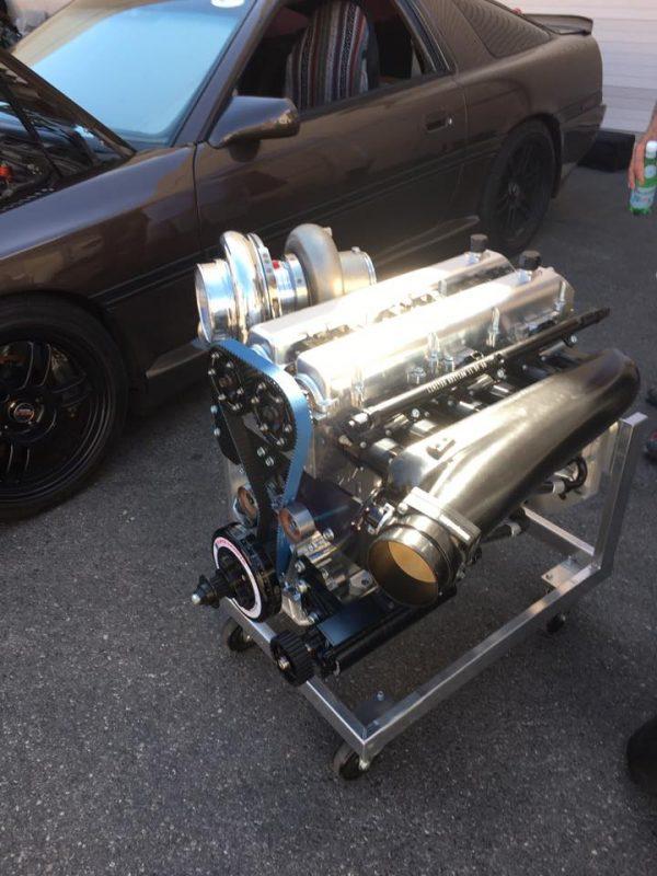 Titan Motorsports full billet 2JZ inline-six