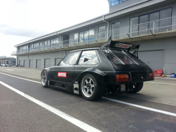 Toyota Starlet with a 3S-GE Inline-Four