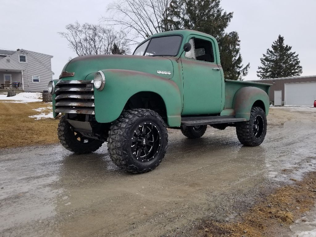 For Sale 1951 Chevrolet 3100 With A 4bt Diesel Inline Four Engine Swap Depot