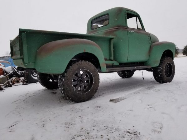 1951 Chevrolet 3100 with a 4BT diesel inline-four