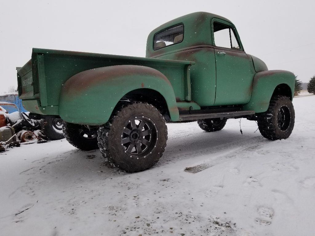 For Sale 1951 Chevrolet 3100 With A 4bt Diesel Inline Four Engine Chevy Wiring The Truck Has Lot Of New Parts Such As Aluminum Radiator Stainless Steel Exhaust And Brake Lines Brakes Fuel Tank