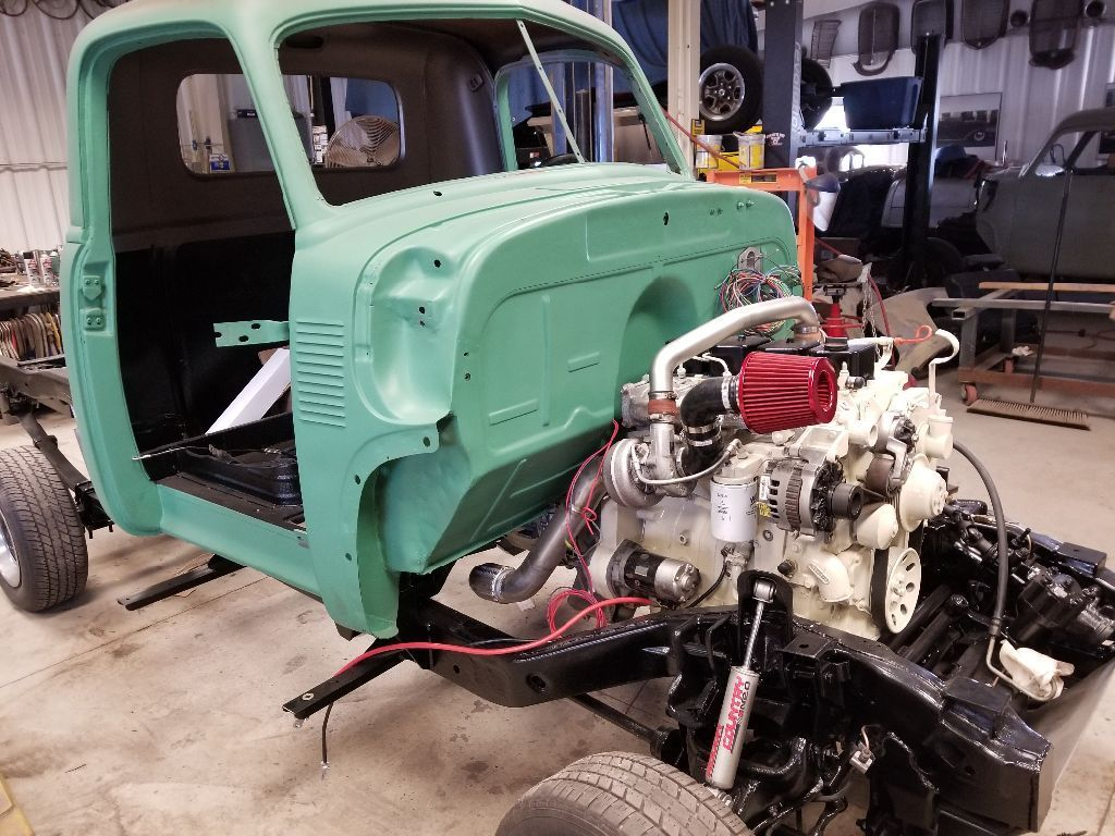 For Sale: 1951 Chevrolet 3100 with a 4BT Diesel Inline ...