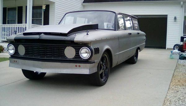 1961 Mercury Comet wagon with a Cummins 6BT inline-six