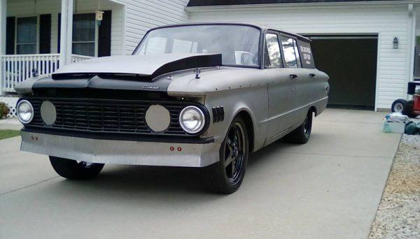 1961 Mercury Comet wagon with a Cummins 6BT inline-six