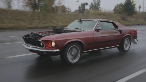 Disgustang 1969 Mustang Mach 1 with a 410 ci Winsor V8