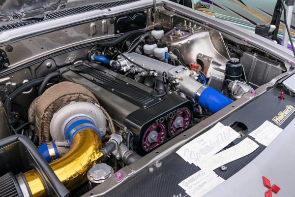 1987 Mitsubishi Starion with a Turbo 1JZ Inline-Six