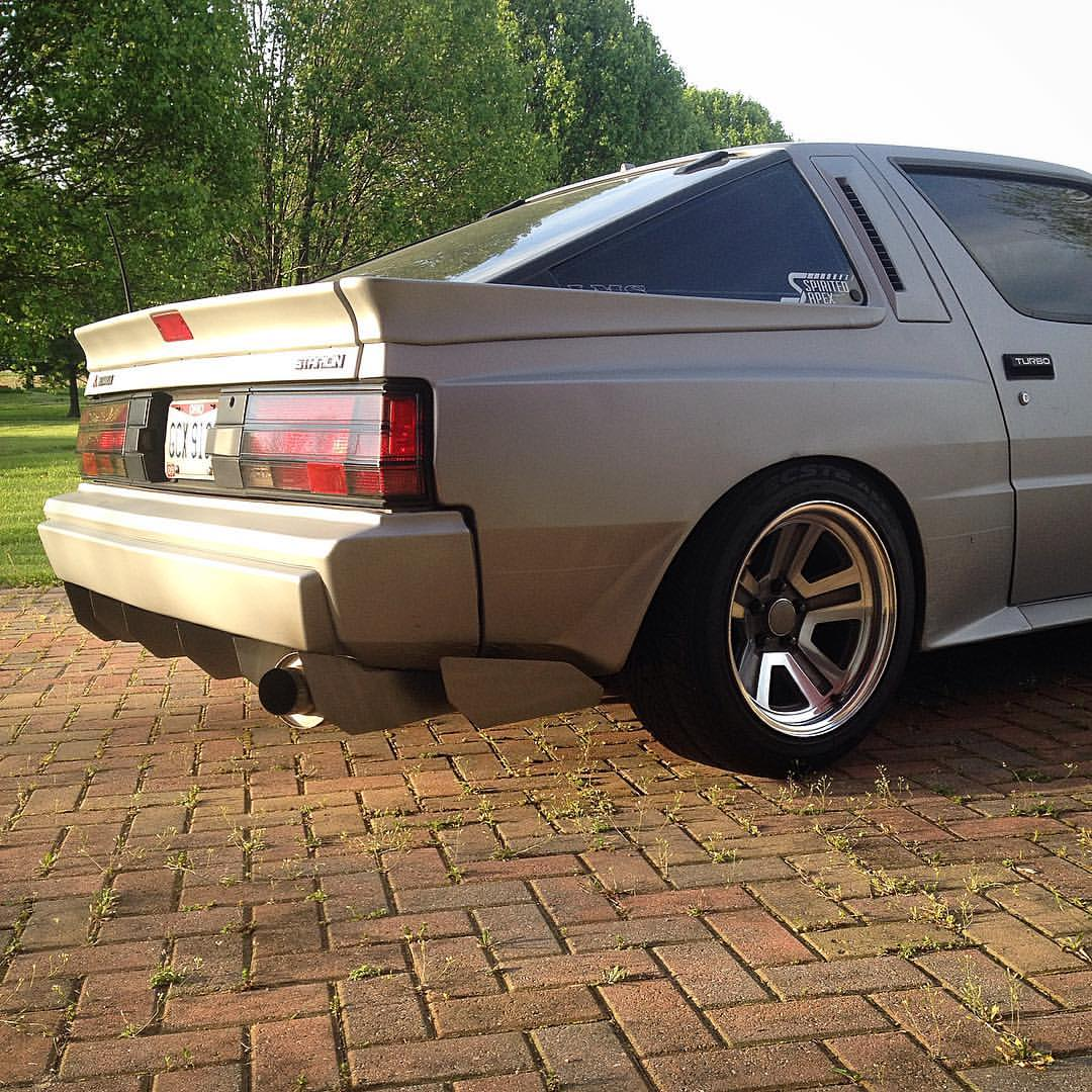 1987 Mitsubishi Starion with a Turbo 1JZ Inline-Six – Engine