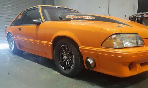 1989 Ford Mustang with a Turbo Barra Inline-Six