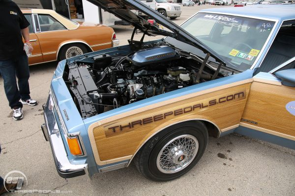 1989 Pontiac Safari Wagon with a LS3 V8