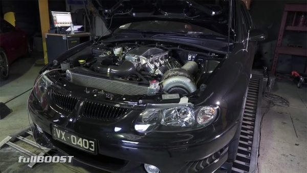 2002 Holden Commodore with a Turbo LSx V8