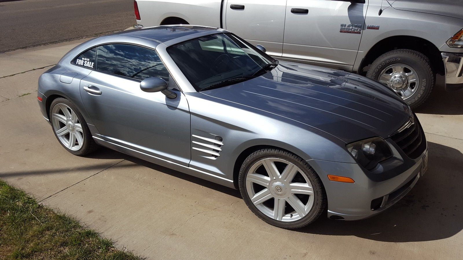 for sale 2004 chrysler crossfire with a 5 3 l lsx v8 engine swap depot. Black Bedroom Furniture Sets. Home Design Ideas