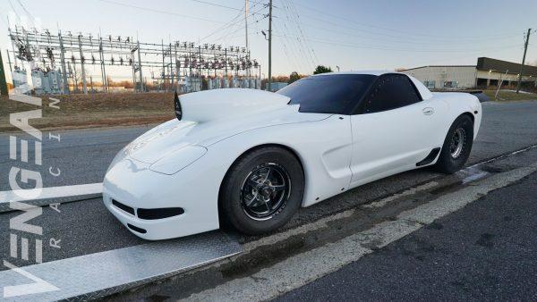 Corvette Z06 with a 451 ci LSX V8