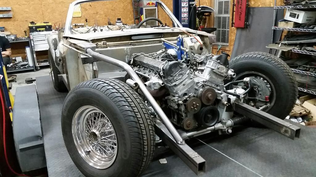 Building A Ferrari 275 Gtb 4 Replica With A Volvo Body And