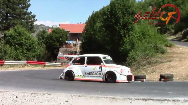 Fiat 600 with a BMW S1000RR inline-four