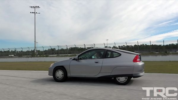 Honda Insight with a Turbo K20 Inline-Four