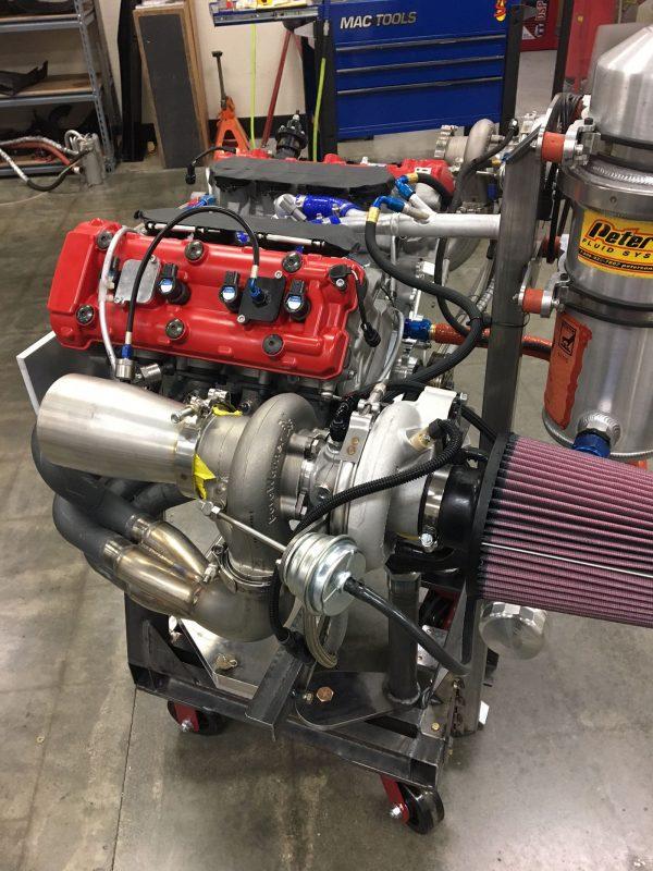 JFC-V8 twin-turbo 2.8 L V8