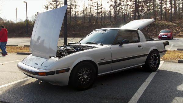 Mazda RX-7 with a Twin-Turbo 1UZ V8