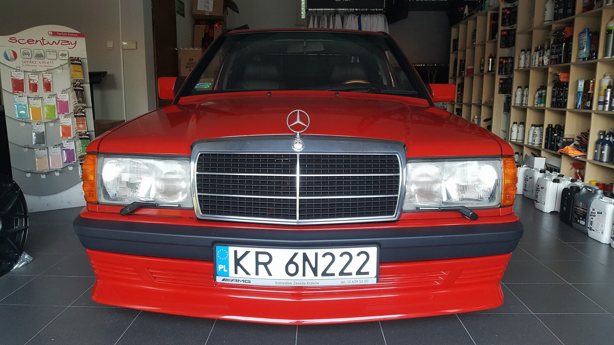 Mercedes 190E with a Supercharged Inline-Four – Engine Swap
