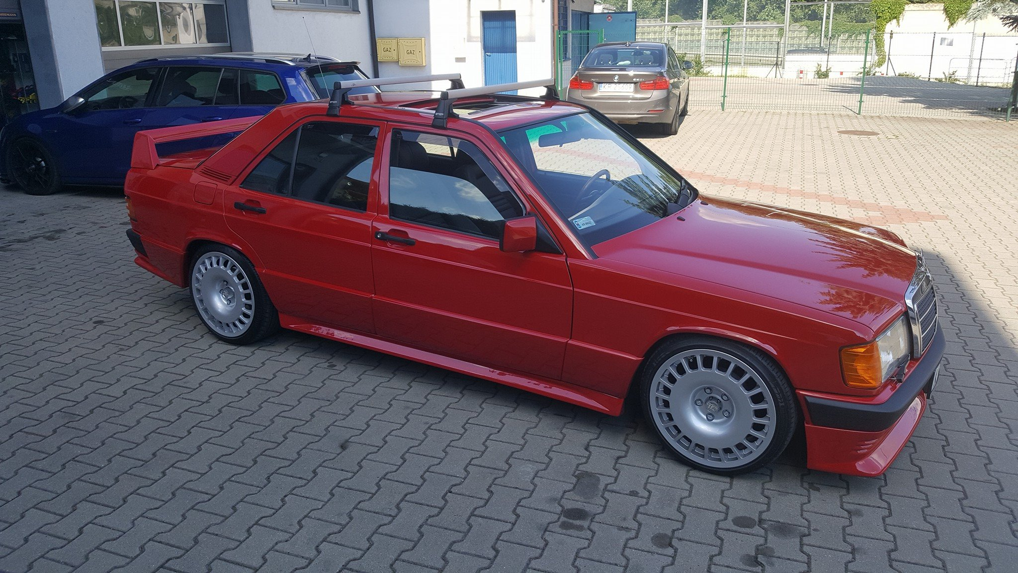 Mercedes 190e With A Supercharged Inline Four Engine Swap Depot
