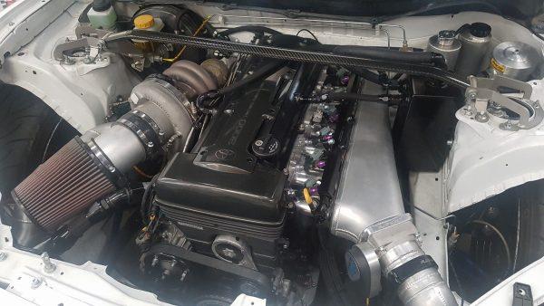 Subaru BRZ with a 2JZ-GTE inline-six