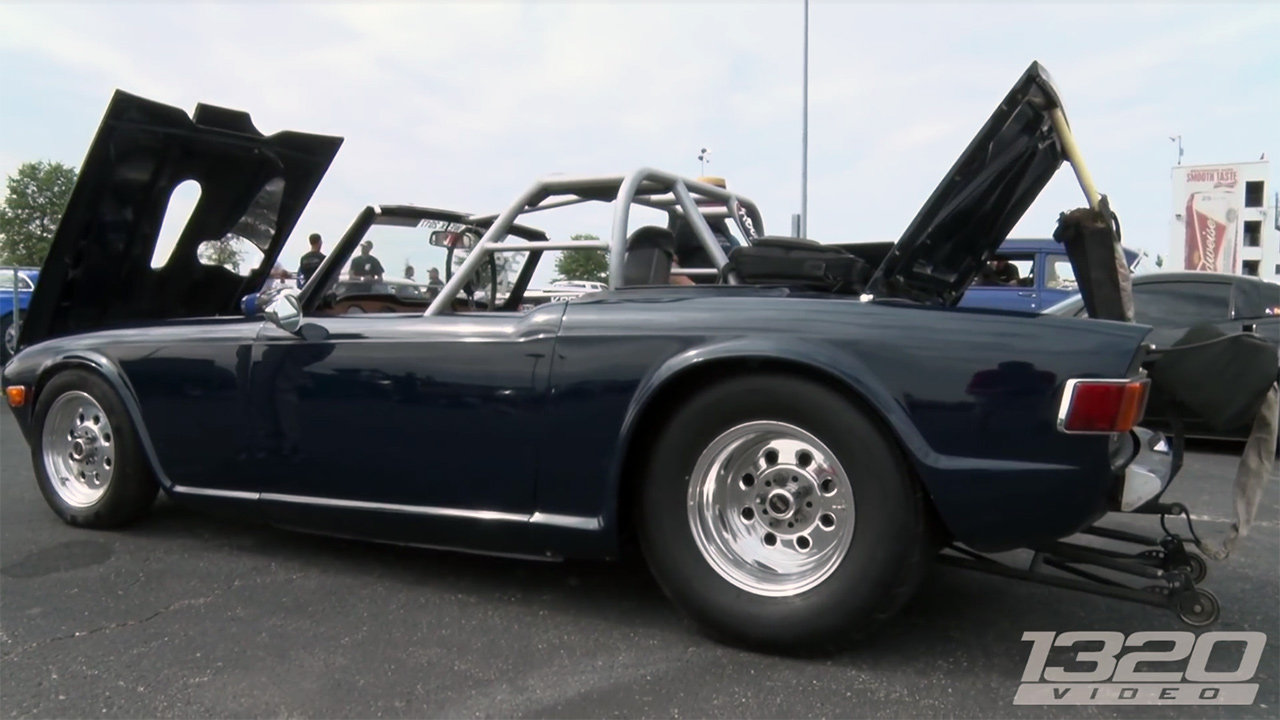 Triumph TR6 with a Turbo Pontiac V8 – Engine Swap Depot