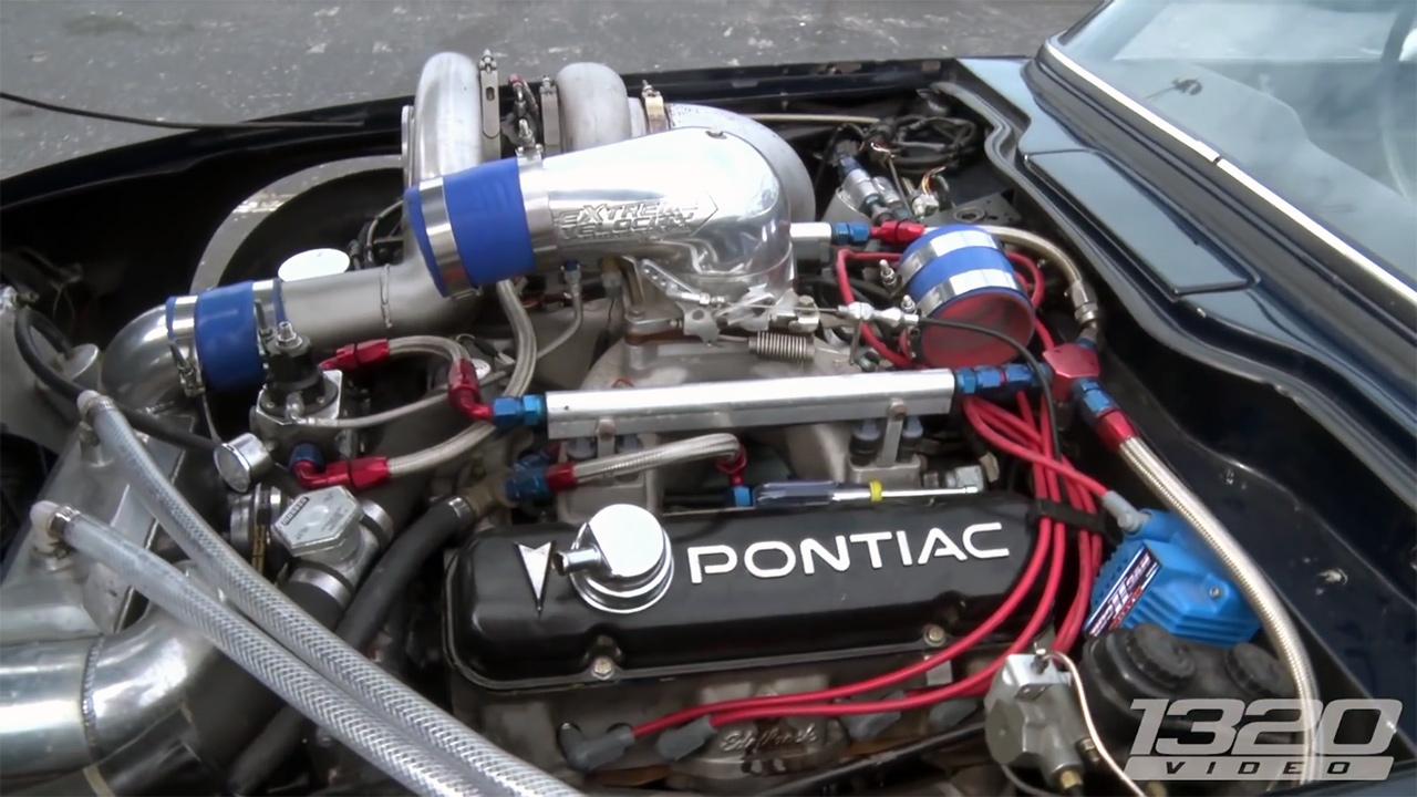 Triumph Tr6 With A Turbo Pontiac V8 Engine Swap Depot
