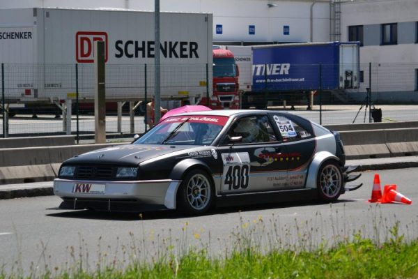 VW Corrado with a 1.4 L Inline-Four
