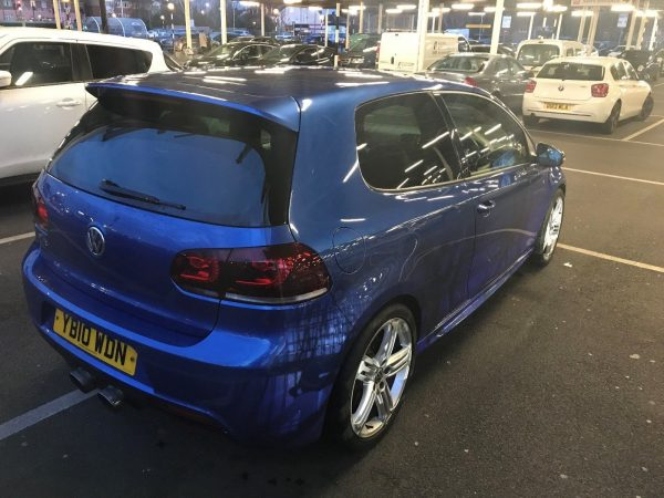 VW Golf R MK6 with a 2.5 L TFSI Inline-Five