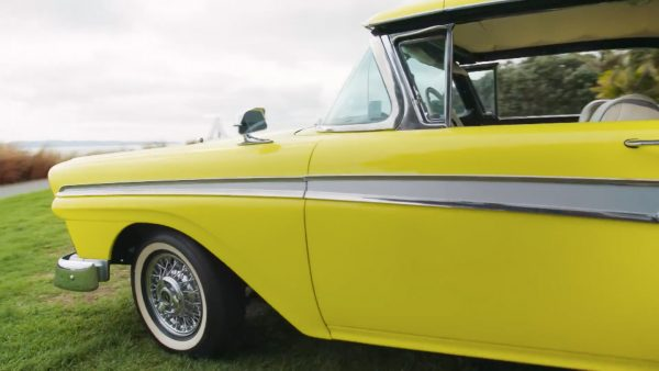 1957 Ford Fairlane with electric motor