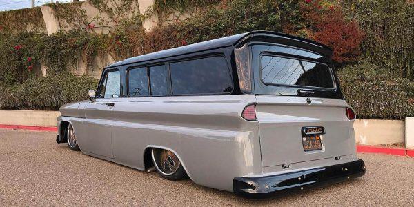 1966 GMC Suburban with 6.0 L LSx V8