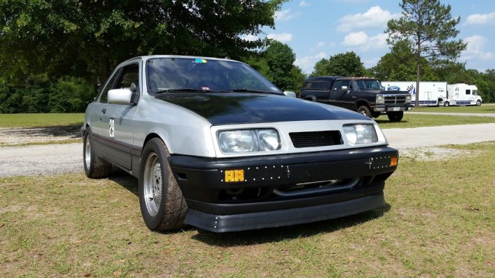 for sale merkur xr4ti with a ford 5 0 l v8 engine swap depot. Black Bedroom Furniture Sets. Home Design Ideas