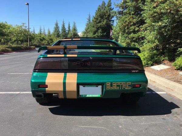 1988 Pontiac Fiero GT with an electric motor