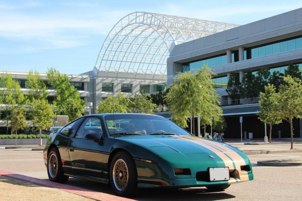 1988 Pontiac Fiero GT with an electric motor