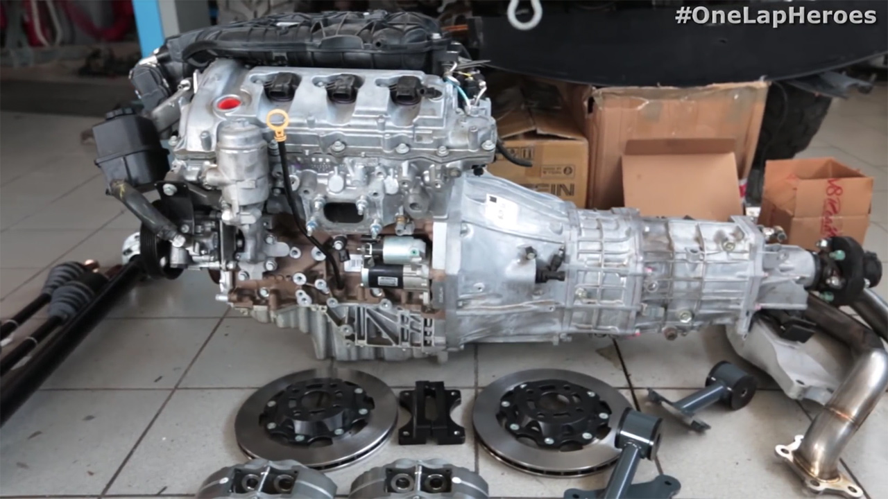Mazda MX-5 with a LFX V6 – Part 1 – Engine Swap Depot