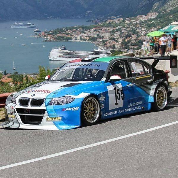 BMW E90 with a S65 V8