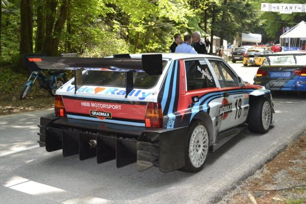 Lancia Delta with a Fiat Turbo Inline-Five