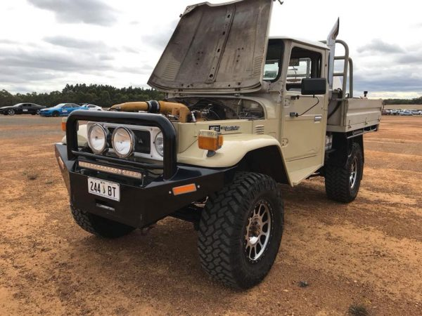 Land Cruiser with a Caterpillar 10.4 L V8