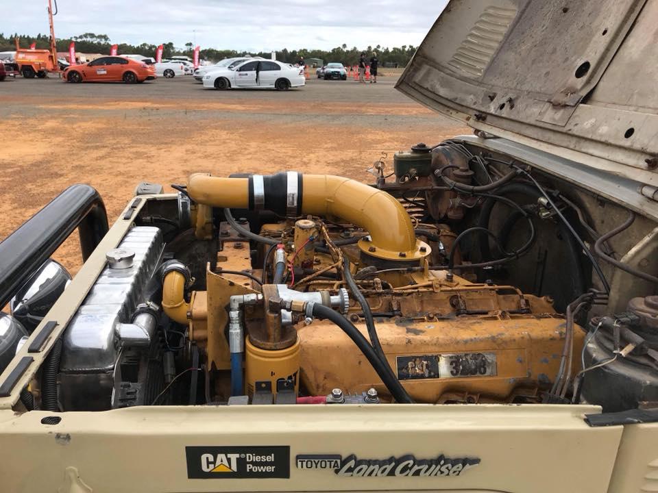 Toyota Land Cruiser Diesel >> Land Cruiser with a Caterpillar 10.4 L Turbo V8 – Engine Swap Depot