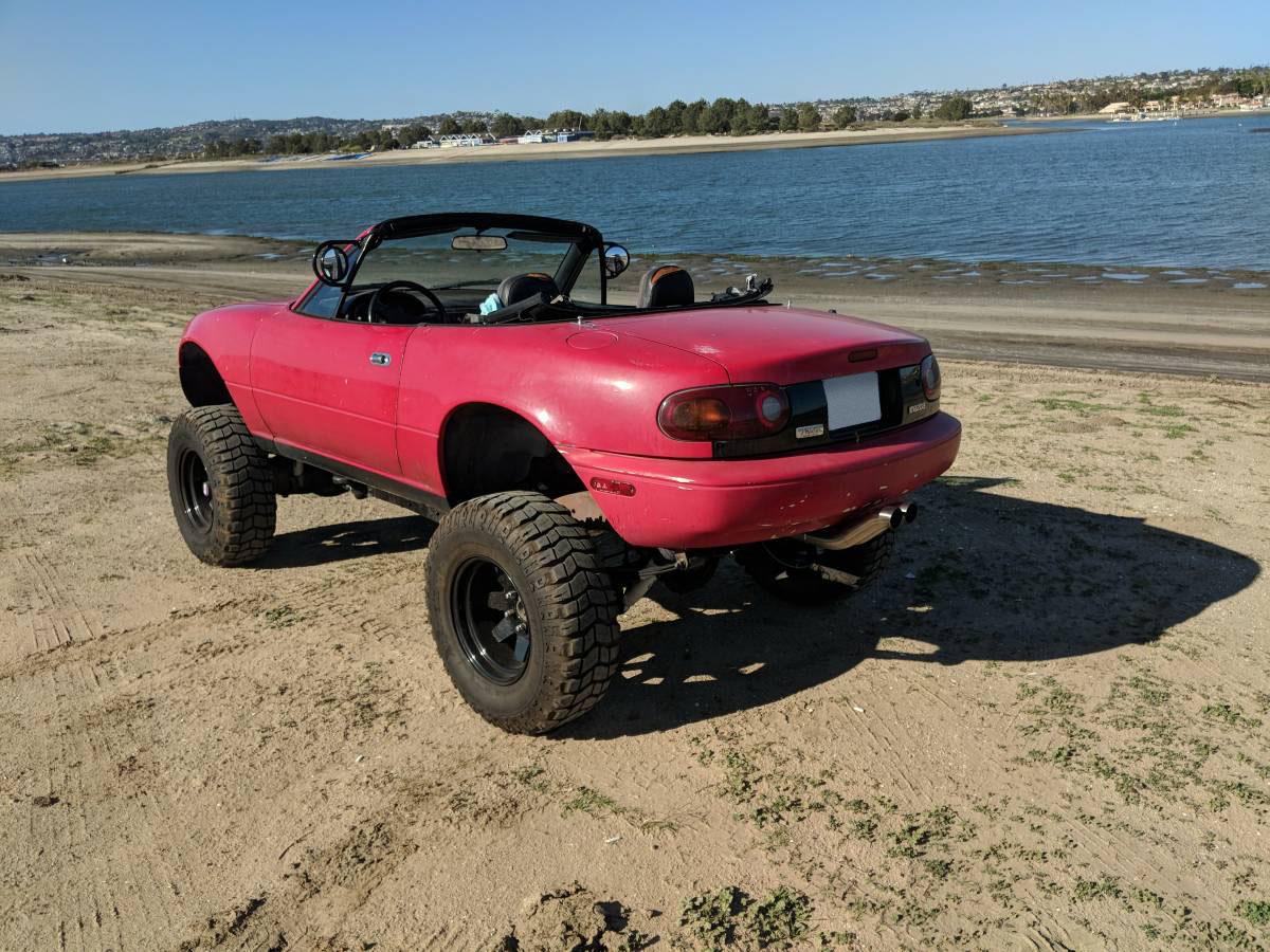 For Sale: Mazda Miata on a 4WD Bronco Chassis – Engine Swap