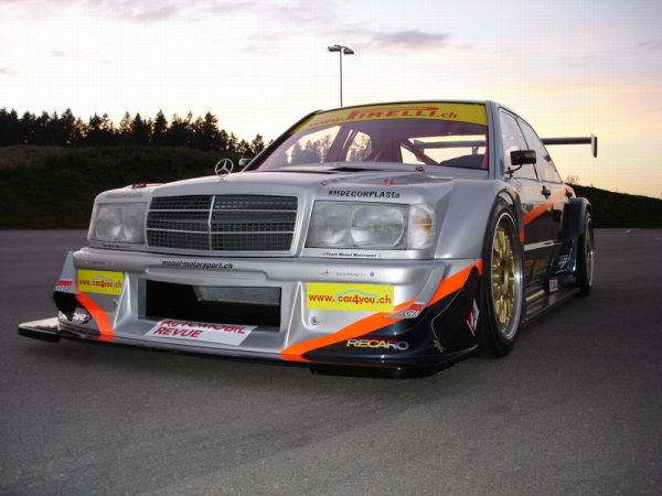 Mercedes 190E with a Judd V8