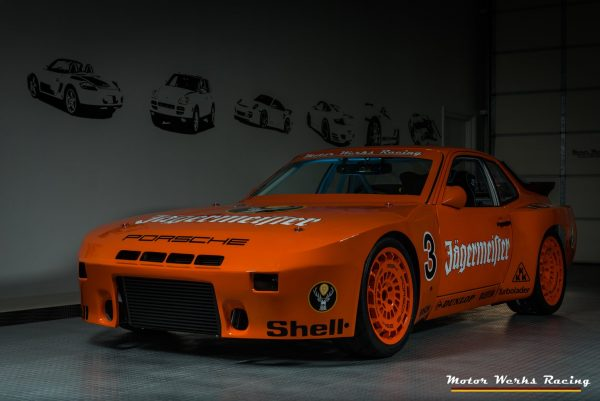 Porsche 924 with a Turbo Audi 1.8 L Inline-Four