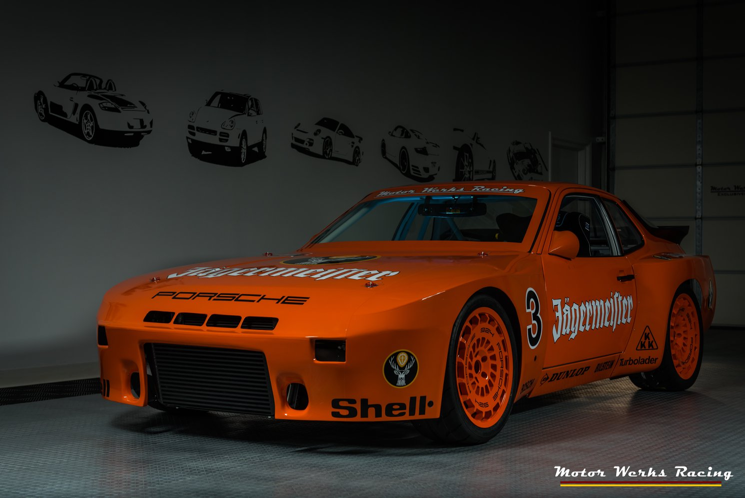 Orange Race Car >> Porsche 924 with a Turbo Audi 1.8 L Inline-Four – Engine Swap Depot