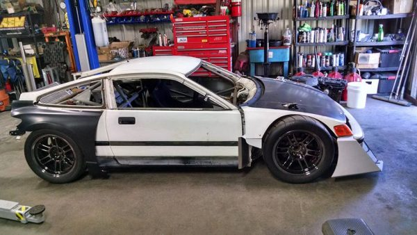 RWD Honda CRX with a J-series V6