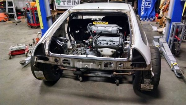 Rwd Honda Crx With A J35 V6  U2013 Engine Swap Depot