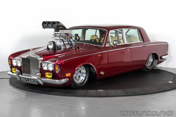 Rolls-Royce Silver Shadow with a Supercharged Chevy V8