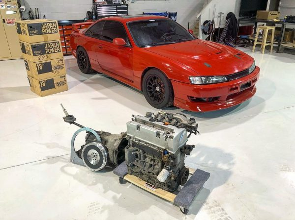 Nissan 240sx With A K24  U2013 Part 1  U2013 Engine Swap Depot