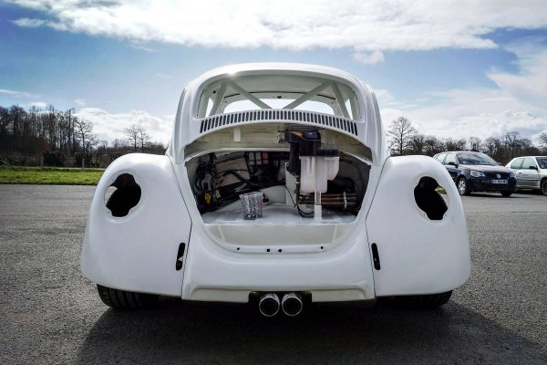 VW Beetle on a Porsche Boxster Chassis